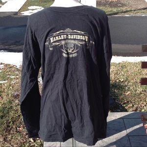 Mens Harley shirt.